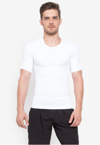 Spanx white Zoned Performance Crew 2DF67USBEBD09AGS_1