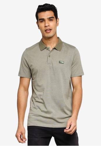 Jack & Jones green Schultz Turk Short Sleeves Polo 92F50AA56B8C5DGS_1