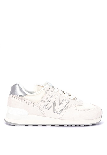 8c34b03619f8a Shop New Balance 574 Classic Suede/Mesh Sneakers Online on ZALORA  Philippines