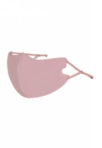 Her Jewellery pink Ice Silk Cotton Adult Mask (Pink) 6466FES01129B3GS_1