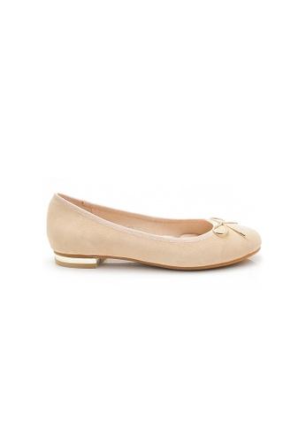 Elisa Litz beige Kelley Flats (Beige) 0FC9FSHFFA83C1GS_1