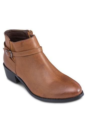 簡約短靴, esprit台灣outlet女鞋, 鞋