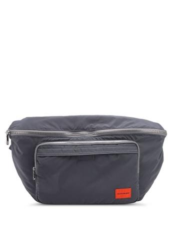 Calvin Klein silver XL Street Pack Bag - Calvin Klein Accessories B5212AC8E1EE5AGS_1