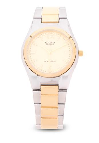 Casio silver Analog Watch MTP-1253SG-9ADF CA076AC96LSLPH_1