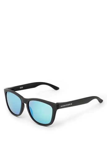 Hawkers black HAWKERS Carbono Blue Chrome ONE Sunnies 800EBGL725D3CBGS_1
