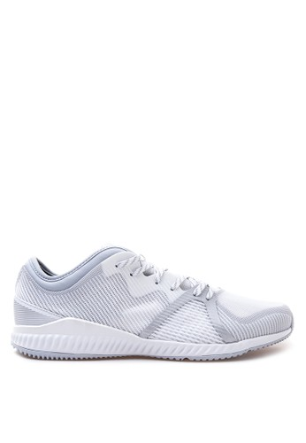 adidas white and silver adidas performance CrazyTrain Bounce Shoes AD678SH15CBOPH_1