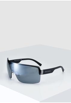 f0fe6b16286c Armani Exchange grey Armani AX2024S Sunglasses FDD11GL0C8D993GS 1