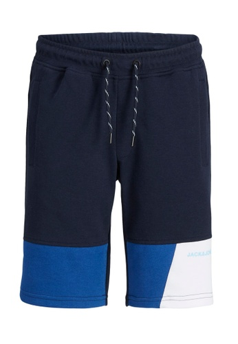 Jack & Jones navy Mars Sweat Shorts F348FKA6B4FA76GS_1