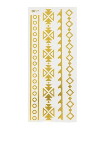 zalora時尚購物網評價民族風圖形紋身貼, 飾品配件, 女裝飾品