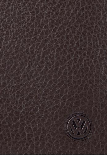 Volkswagen brown Volkswagen Bi-Fold Full Leather Long Wallet VO089AC11MWIMY_1