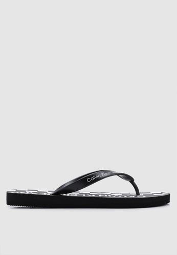 Calvin Klein black Errol Flip Flops 206E0SH280D07EGS_1