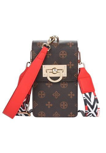 Baellerry brown Two Strap Fashion Sling Hand Bag 9659DAC828AF8EGS_1