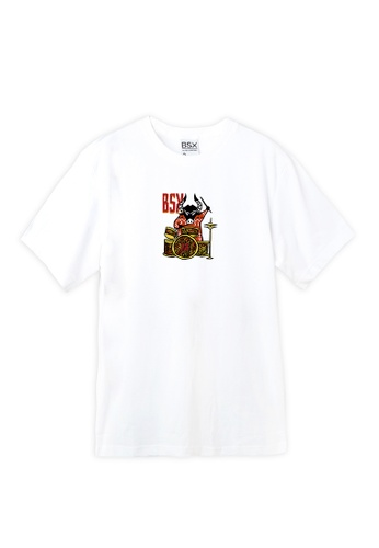 BSX white BSX New year of Ox limited eddition T-shirt CF8A4AA0D86803GS_1