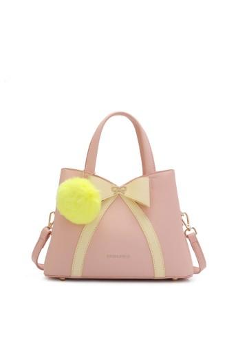 Swiss Polo pink Casual Top Hand Bag 87393AC6BB1B1BGS_1
