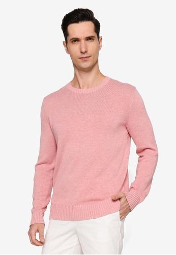 Banana Republic 粉紅色 Easy Crew Sweater 78AECAA5E37A7BGS_1