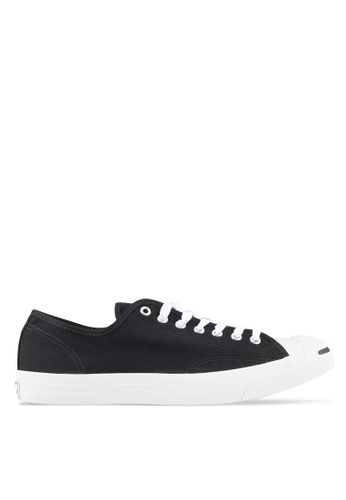 Converse black Jack Purcell Core Ox Sneakers 206FASH9CB06B4GS_1