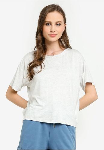 Cotton On Body grey Sleep Recovery Crew T-Shirt B0C65AAE6FAC90GS_1