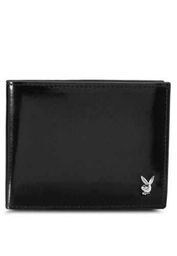 Playboy black Playboy Bi-Fold Wallet PL371AC0SK1FMY_1