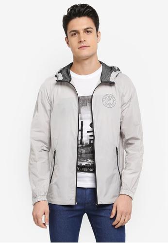 Only & Sons grey Navarro Jacket E0F37AA93B3F00GS_1