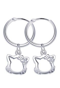 Kitty Loop Dangling Earring