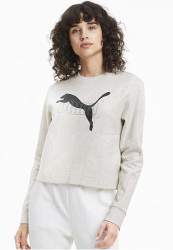 puma white NU-TILITY Women's Sweater 86997AA42B1BA4GS_1
