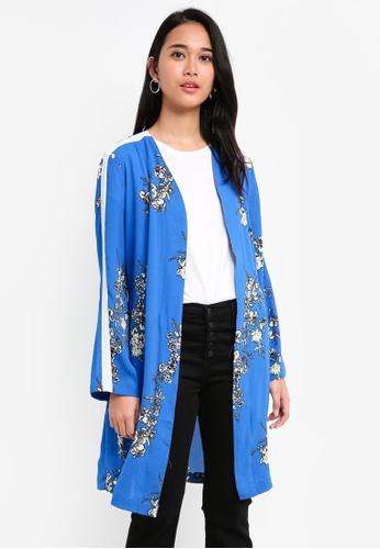 ONLY blue Casa 2.0 Lux Aop Kimono 8FCF3AA2FF5FC1GS_1