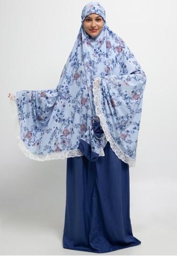 Aira Muslim Butik blue Hanum Prayer Set 9CA17AA539CE4DGS_1