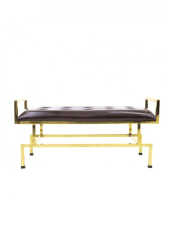 Choice Furniture gold Choice Furniture - Boswell Bench 7018CHL4ED59F4GS_1