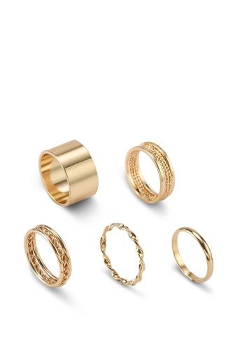 ALDO gold Cruviel Rings 2AB4FACE0510A9GS_1