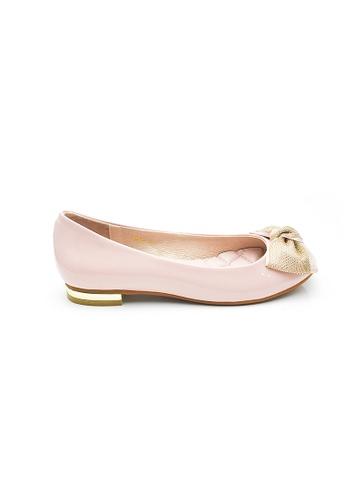 Elisa Litz pink Heidi Flats (Pink) 0E173SH91D5A5FGS_1
