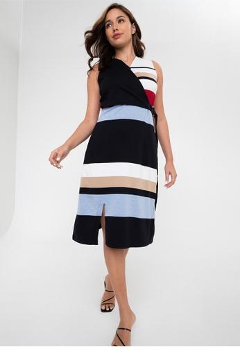 Blued black Shifra Dress C5C40AA505A396GS_1