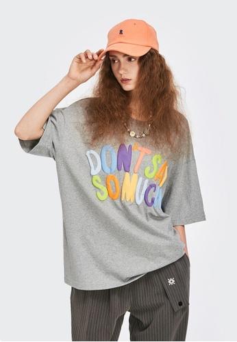 Twenty Eight Shoes Trend Printed Short T-shirt 5116S21 FE7EDAA7A0265FGS_1