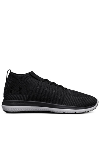 Under Armour black UA Slingflex Mid Shoes UN337SH0SU9NMY_1
