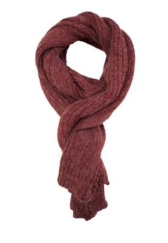 馬esprit 台北海毛混線針織圍巾, 飾品配件, 披肩