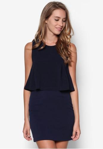 層次無袖連身裙, 服飾, 短esprit門市洋裝