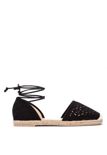 BENCH black Cut-out Espadrille Sandals BB4B4SH79B0CF3GS_1