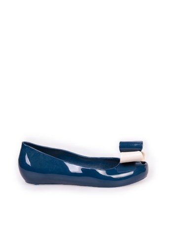 Sunnydaysweety blue Big Sale Item - S/S New Simple Bow Flat Shoes C05124BL SU219SH0F9RGSG_1