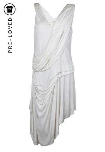 Bcbg Runway white Pre-Loved bcbg runway White Dress 81579AAABE655EGS_1