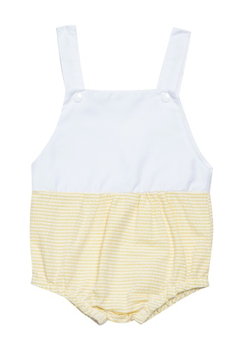 RAISING LITTLE yellow Tropez Jumpsuit AC38BKA8F8D13DGS_1