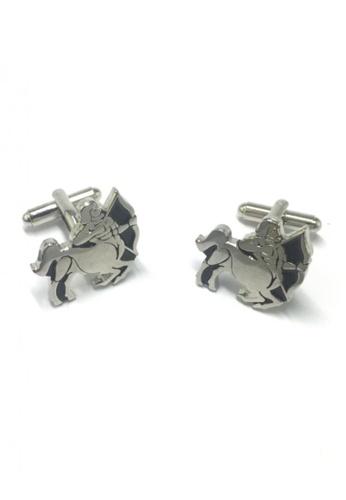 Splice Cufflinks silver Horoscope Sagittarius Cufflinks   SP744AC15DNKSG_1