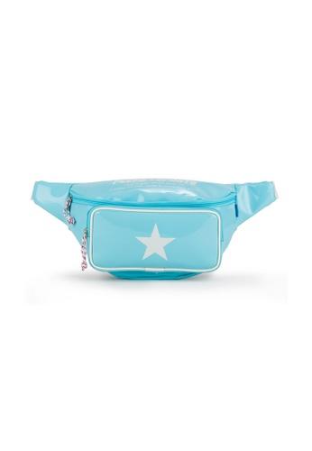 Peeps blue Pop Pop Waist Bag 3B817AC3F07B14GS_1