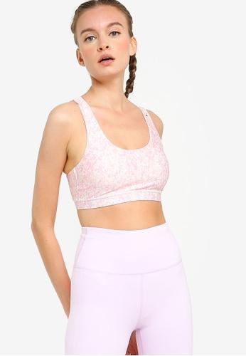 Cotton On Body 粉紅色 繞帶運動短版內衣 A4897USFD4F124GS_1