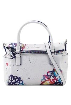 33a31ad55af Desigual white and multi Mandalas Loverty Bag D3D89AC457E3A4GS_1