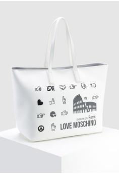 Love Moschino Graphic Tote Bag HK  1 f952c621cc859