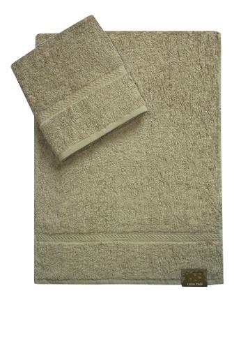 Cotton Fields grey Cotton Fields Hand Towel Plain BF2B1HL7682455GS_1