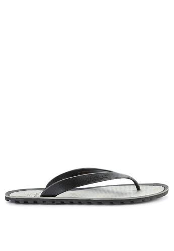 Watchout! Shoes black Sandals Thong 8F392SHD1F6D72GS_1