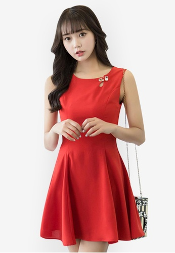 77eb65ec13f4 Shop Sunnydaysweety Summer Simple Comfort Chiffon Short Dress Online on  ZALORA Philippines