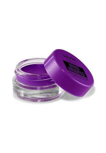 NYX Professional Makeup purple NYX Professional Makeup Vivid Brights Crème Color - REBELLIOUS EDGE FE053BE22F1D10GS_1