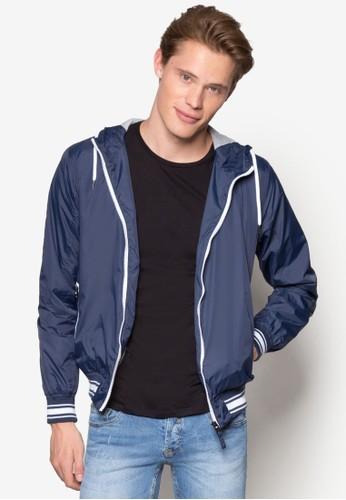 K-Wayesprit 台中 Con Jersey Interno Jacket, 服飾, 服飾