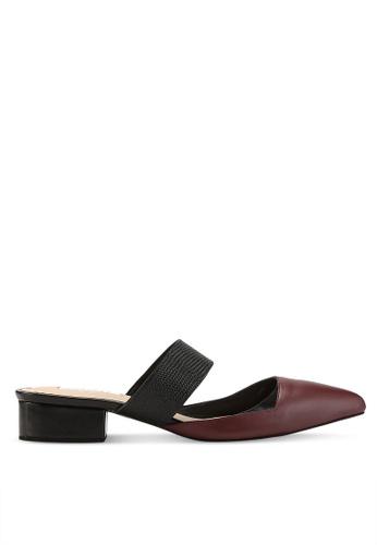 OCEEDEE 紅色 Annette 平底鞋 80499SH828E52FGS_1